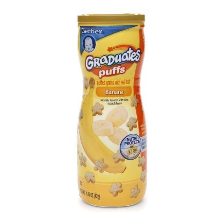 Gerber Graduates Puffs Cereal Snack Banana - 1.48 oz.