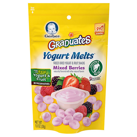 Gerber Graduates Yogurt Melts Mixed Berry - 1 oz.