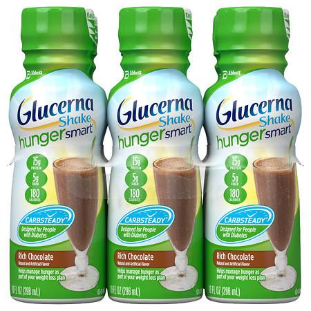 Glucerna Hunger Smart Shake Rich Chocolate - 10 oz.