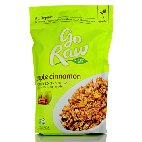 GoRaw Live Apple Cinnamon Granola, 16 oz