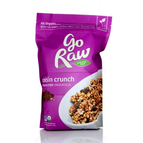 GoRaw Raisin Crunch Granola, 16 oz