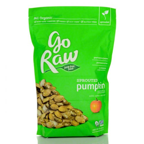 GoRaw Sprouted Pumpkin Seeds, 16 oz