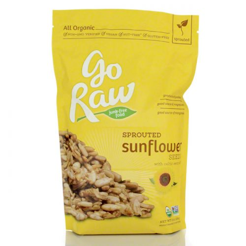 GoRaw Sprouted Sunflower Seeds, 16 oz