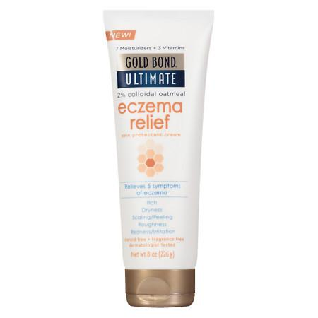 Gold Bond Ultimate Eczema Relief Cream Fragrance Free - 8 oz.
