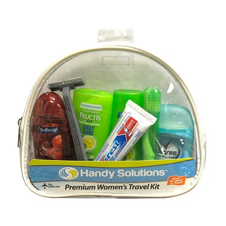 Handy Solutions Premium Women's Travel Kit - TSA Approved - 1 kit