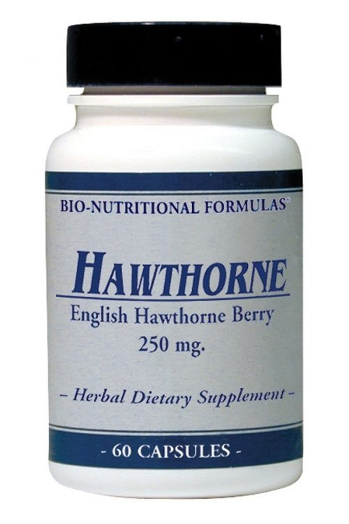 Hawthorne 250 Mg Standardized