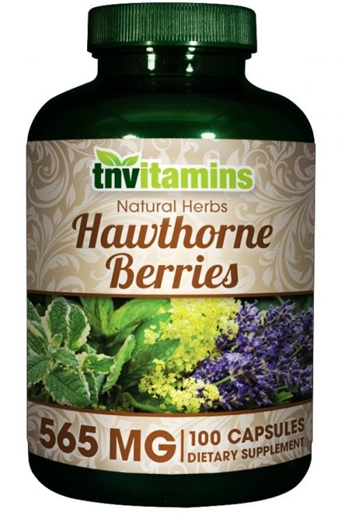 Hawthorne Berries 565 Mg