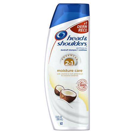Head & Shoulders Moisture Care 2in1 Dandruff Shampoo + Conditioner - 12.8 fl oz