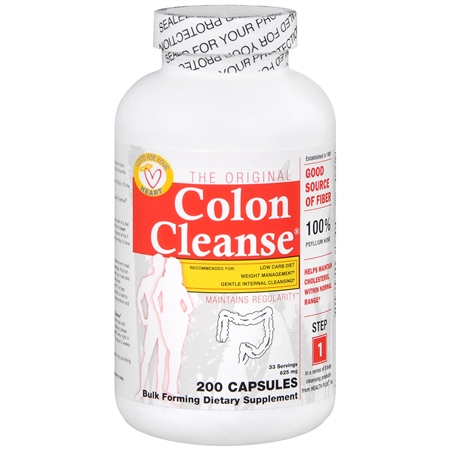 Health Plus Original Colon Cleanse, Capsules - 200 ea