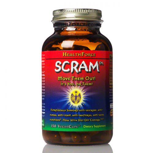 Healthforce Scram! Internal Parasite Formula, 150 ct