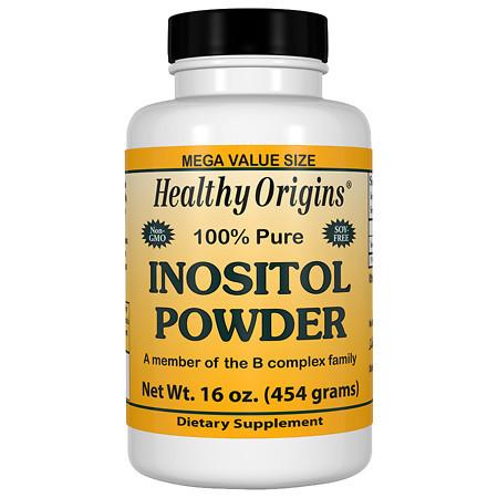 Healthy Origins 100% Pure Inositol Powder - 16 oz.