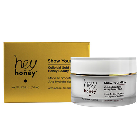 Hey Honey Show Your Glow-Colloidial Gold & Honey Beauty Mask - 1.7 oz.