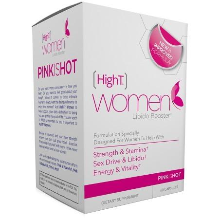 HighT Libido Booster, Women, Capsules - 60 ea
