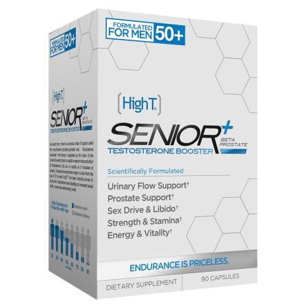 HighT Senior + Beta Prostate Testosterone Booster, Capsules - 90 ea
