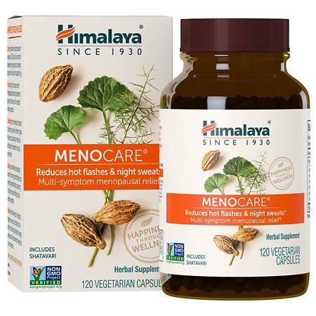 Himalaya Herbal Healthcare MenoCare, Vegetarian Capsules - 120 ea
