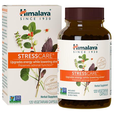 Himalaya Herbal Healthcare StressCare, Vegetarian Capsules - 120 ea