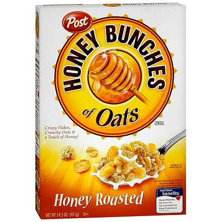 Honey Bunches of Oats Honey Roasted Cereal - 14.5 oz.
