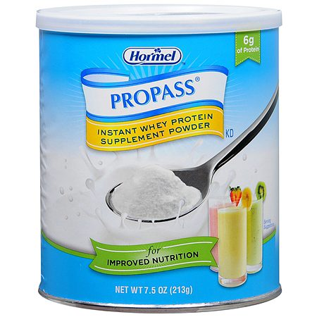 Hormel Propass Instant Whey Protein Supplement Powder - 4 ea
