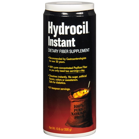 Hydrocil Instant Dietary Fiber Supplement - 10.6 oz.