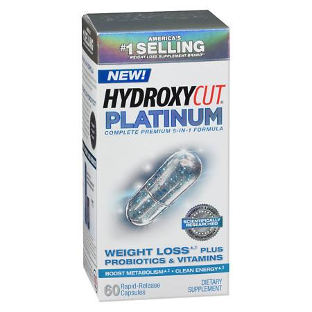 Hydroxycut Platinum Weight Loss Supplement - 60 ea