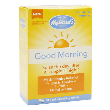 Hyland's Good Morning Tablets - 50 ea
