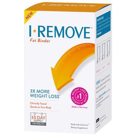 I-REMOVE Fat Binder - 180 ea