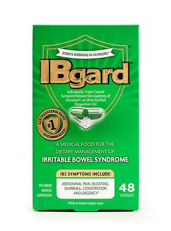 Ibgard IBS Treatment Caps - 48 ea