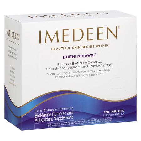 Imedeen Prime Renewal anti-aging skincare formula - 120 ea