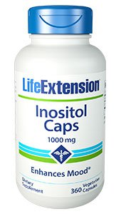 Inositol Caps, 1000 mg, 360 vegetarian capsules