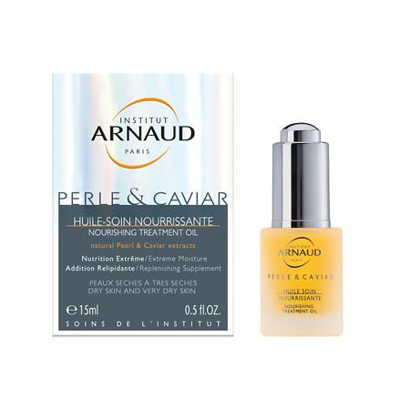 Institut Arnaud Paris Perle & Caviar - Pearl & Caviar Nourishing Treatment Oil - 0.5 oz.