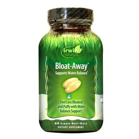 Irwin Naturals Bloat-Away Water Balance Support, Softgels - 60 ea