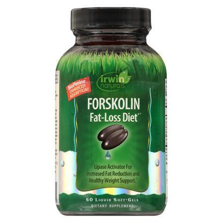 Irwin Naturals Forskolin Fat-Loss Diet Liquid Softgels - 60 ea