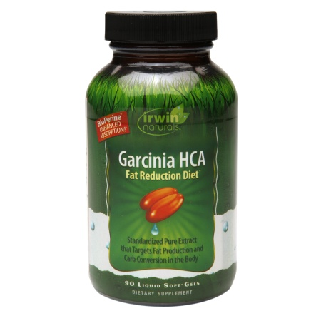 Irwin Naturals Garcinia HCA Fat Reduction Diet, Liquid Soft-Gels - 90 ea