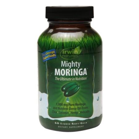 Irwin Naturals Mighty Moringa, Liquid Soft-Gels - 60 ea
