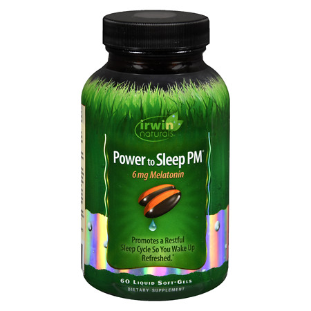 Irwin Naturals Power to Sleep PM, 6mg Melatonin - 10.4 oz.