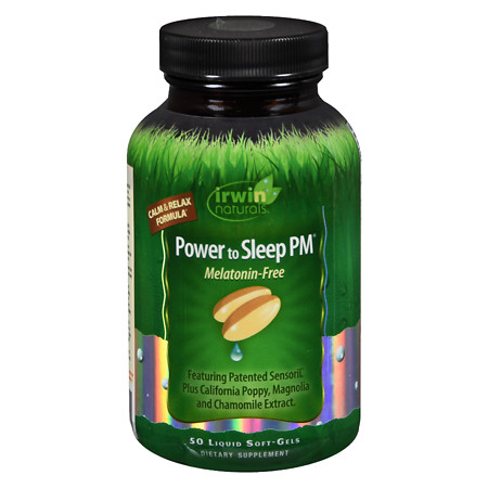 Irwin Naturals Power to Sleep PM, Melatonin-Free - 9.92 oz.