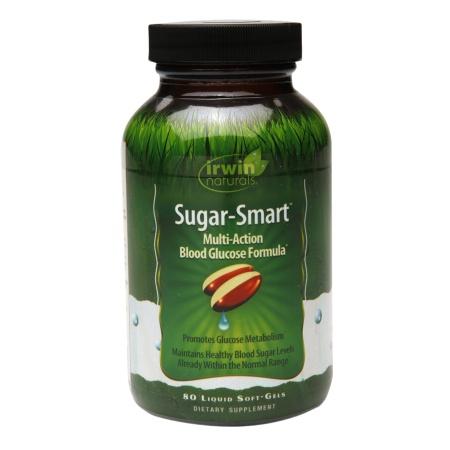 Irwin Naturals Sugar-Smart, Soft-Gels - 80 ea