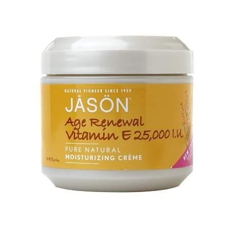 JASON Age Renewal Vitamin E 25,000 IU Moisturizing Creme - 4 oz.