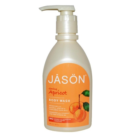 JASON Pure Natural Body Wash Glowing Apricot - 30 fl oz