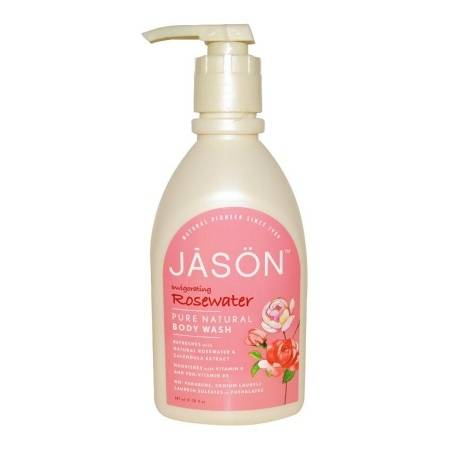 JASON Satin Shower Body Wash Invigorating Rosewater - 30 fl oz