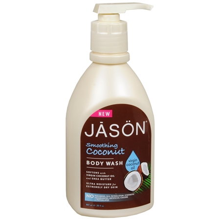 JASON Smoothing Coconut Body Wash - 30 oz.