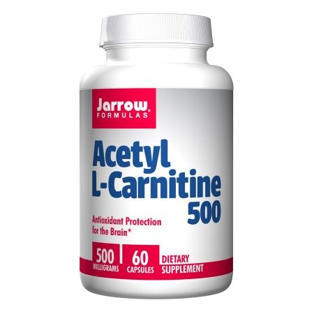 Jarrow Formulas Acetyl L-Carnitine 500, Vegetarian Capsules - 60 ea