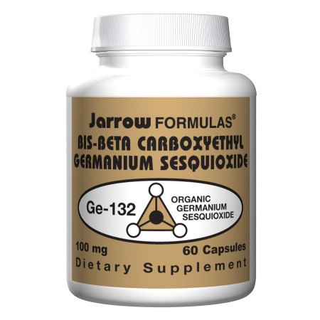Jarrow Formulas Bis-Beta Carboxyethyl Germanium Sesquioxide, Capsules - 60 ea