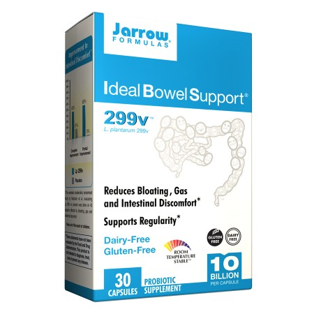 Jarrow Formulas Ideal Bowel Support, Vegetarian Capsules - 30 ea