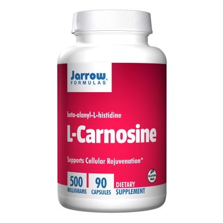 Jarrow Formulas L-Carnosine 500, Capsules - 90 ea