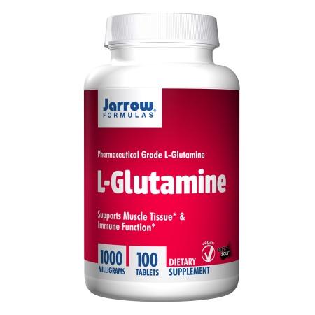 Jarrow Formulas L-Glutamine 1000mg, Tablets - 100 ea