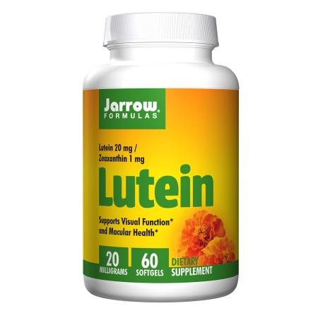 Jarrow Formulas Lutein 20mg, Softgels - 60 ea
