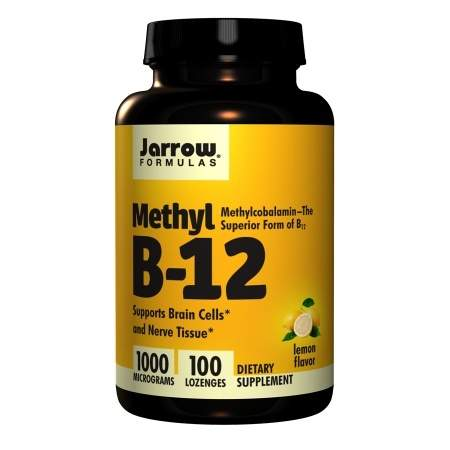 Jarrow Formulas Methyl B-12 1000mcg, Lozenges - 100 ea
