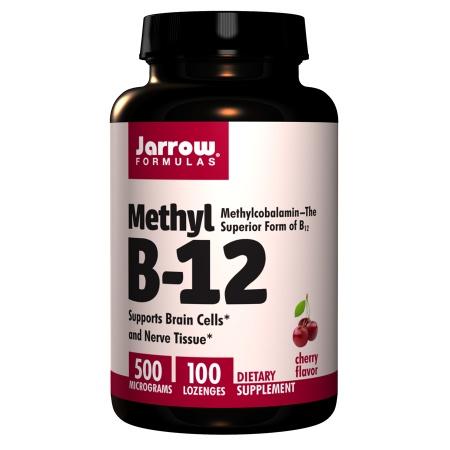 Jarrow Formulas Methyl B-12 500 mcg Lozenges - 100 ea