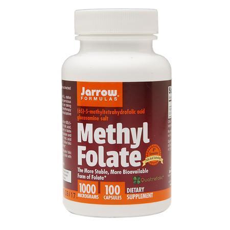 Jarrow Formulas Methyl Folate - 100 ea